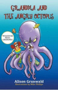 front cover of Grandma and the Angry Octopus Book