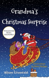 front cover of Grandma's Christmas Surprise book