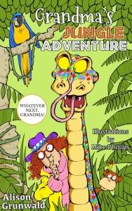 front cover of Grandma's Jungle Adventure