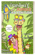 Cover of book, Grandma's Jungle Adventure
